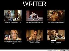 What Writers Do - Writers Write Creative Blog