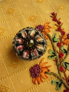 ••• Häkelring autumn ••• von crochet.jewels auf DaWanda.com