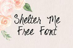 DLOLLEYS HELP: Shelter Me Free Font