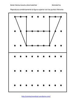 Nuevas actividades para trabajar la motricidad fina en esta ocasión nuestros alumnos deben de realizar una copia de un modelo siguiendo una tabla de puntos ...