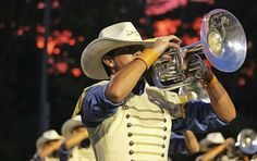 2016 Troopers Mellophone, Drum Corps International, Winter Guard, French Horn, Drums, Cowboy Hats, Band, Fashion, Moda