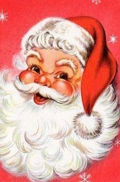 Jolly Santa Face