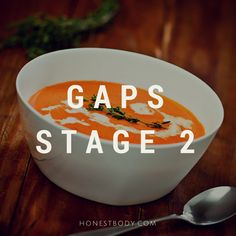 GAPS Stage 2 Recipes
