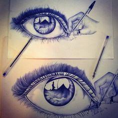 L'occhio in mano