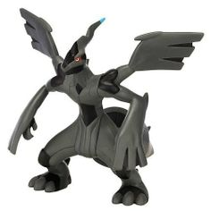 """Pokemon Deluxe Large Figure B&W Series #1 5"""" Zekrom (All Black) by Pokemon. $7.99. Features new and most popular Pokémon including Legendary Pokémon. 5? to 7? premium quality, collectible figure. Highly detailed deco. Multiple points of articulation. From the Manufacturer                Create your own Pokemon world with these highly detailed Black & White Deluxe figures scaled to different sizes of Pokémon characters. Collect them all                                    Prod..."""