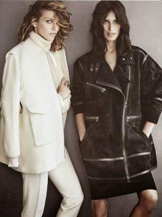 Amanda Wellsh & Karlina Caune for H&M Magazine Fall 2014