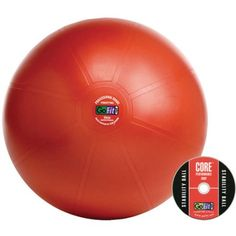 GoFit Professional Stability Ball and Core Performance Training DVD, Red Stability Ball Exercises, Core Stability, Go Fit, Tear, Muscle Groups, Nail Tools, Total Body, Brand Names, Fitness Models