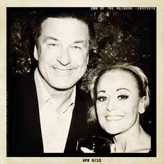 End of the Rainbow on Broadway: Alec Baldwin stopped by the Rainbow Room to visit Tracie Bennett after the April 6th performance of @endofrainbowbwy.
