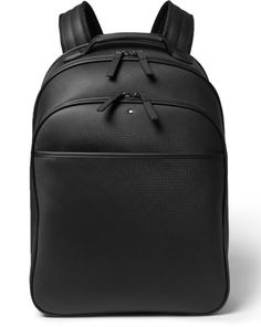 Montblanc - Carbon Fiber-like Extreme Leather Backpack - FreshnessMag.com