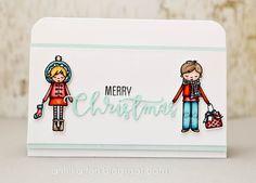 Annikarten: Das doppelte Lottchen # 115 Mama Elephant: Alpine Carolers Simon Says Stamp: Christmas Blessings
