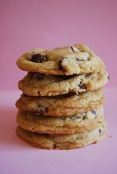 The Ultimate Chocolate Chip Cookie.  Everyone thought these were just okay and I agree.  They were chewy and had a good consistency, but I've had better cookies.