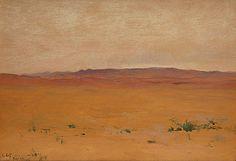 LOCKWOOD DE FOREST (1850-1932) Palm Springs, November 25, 1905