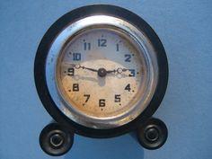 Edwardian Travelling Alarm Clock in a Bakelite by BiminiCricket, $45.00