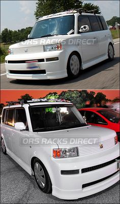 2006 scion xb roof rack bike carriers luggage basket / yakama q121 clips q towers basket case copperhead