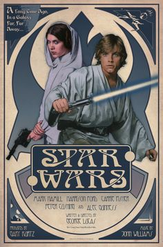 One of the coolest Star Wars posters I have seen in years. by Russell Walks