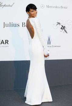 Cannes Fashion - Chanel Iman