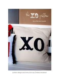 XO Pillow - Tutorial