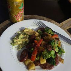 Tonight's dinner after Jiu Jitsu/MMA. The wife killed it on this one! ❤️ Sausage and Veggies with seasoning! I'll add the sausage in my story. Jiu Jitsu Training, Jiu Jitsu Techniques, Brazilian Jiu Jitsu, Mma, Sausage, Dinner, Vegetables, Clothing, Shirts