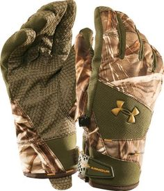 Under Armour® Flex Insulated Camo Gloves  Under Amour Flex Insulated #RealtreeAP #Camo Gloves - Waterproof, breathable protection with 80 grams of insulation for warmth. Grippy palms. Adjustable cuffs. Import­ed.