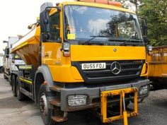 MERCEDES AXOR 2628 6X4 WITH ECON BODY Diesel - http://tractorsforsales.com/mercedes-axor-2628-6x4-with-econ-body-diesel/