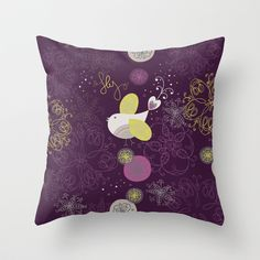 Fly+Little+Wing+Throw+Pillow+by+Sarah+Paris+Style+-+$20.00 Paris Style, New Paris, Paris Fashion, Wings, Throw Pillows, Products, Toss Pillows, Cushions, Decorative Pillows