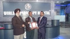 Dr. Dejene Gelaye Teka receiving certificate of Fellowship in minimal access Surgery at World Laparoscopy Hospital. For more detail please log on to www.laparoscopyhospital.com