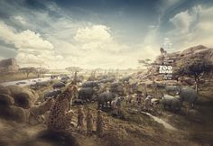 Zoo Safari | Lion King by Caio & Rodrigo , via Behance