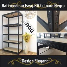 Raft metalic EasyKIT 275 kg pe polita cm Shelves, Elegant, Metal, Design, Home Decor, Classy, Shelving, Decoration Home, Room Decor
