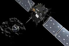 罗塞塔探索器生命进入倒计时缓缓下落撞向彗星 - 新浪网