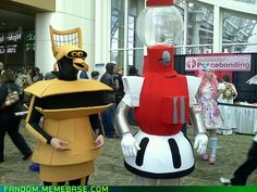 COSPLAYS OF CROW AND TOM SERVO. OMG. <3 #marryme