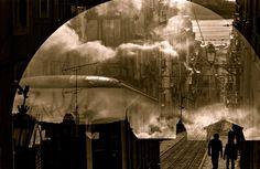 Multiple O elevador da gloria by Francisco Uhlfelder, via 500px