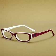 7c22f2716 [lentilles] acétate gratuits rectangle cerclées lunettes de vue de la mode  des femmes –