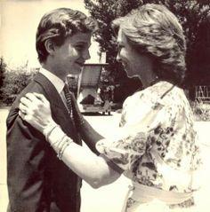 H.M. Queen Sofia of Spain and H.R.H. Prince Felipe de Asturia
