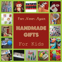 34 handmade gifts with tutorials and some free patterns