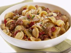 Orecchiette with Roasted Fennel and Sausage Recipe : Giada De Laurentiis : Food Network - FoodNetwork.com