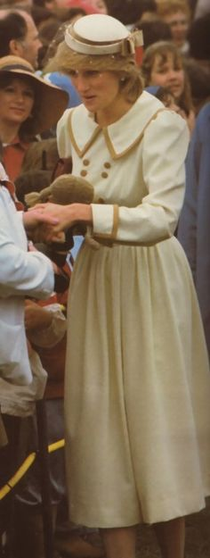 15 June 1983 Halifax. At the Halifax commons the royal couples second major public appearance brought a touch of rain.