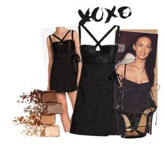 """""""XOXO"""" by fashionstarprincess ❤ liked on Polyvore featuring Dolce&Gabbana, Dsquared2 and Maybelline"""