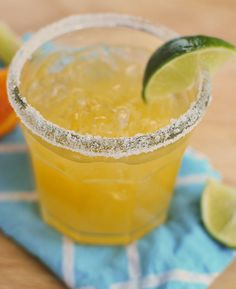 Fresh Orange Margarita by fakeginger, via Flickr