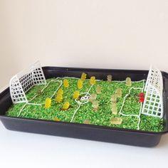 VM fodbold kage - chokoladekage med vingummi bamser❤