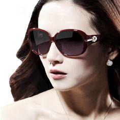 35affff85 [US $3.10] curtain Coating shade Eyewear Sun Glasses Female UV400 #coating  #curtain. Óculos GigantesÓculos De Sol ...