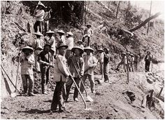Chinese Immigrants Help Construct the Transcontinental Railroad