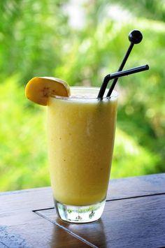 Licuado de piña, plátano y naranja | Marco Beteta