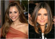 The US TV presenter with Greek roots Maria Menounos can boast with slender figure. Let`s see her height, weight and body measurements. Hair Color Dark, Eye Color, Maria Menounos, Tv Presenters, Height And Weight, Plastic Surgery, Body Measurements, Dark Brown, Photoshop