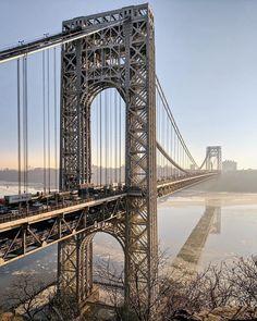 New York Life, Nyc Life, New York Art, Fort Lee, New York Food, Washington Heights, New York Photography, Travel Checklist, George Washington Bridge