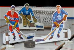 Every kid played with a tabletop hockey game when I was growing up.