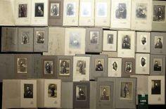 ◆古写真 大正10年撮影 十八歳の女学生たちの肖像 32枚 写真館
