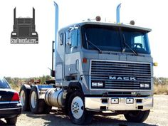 View pictures of Mack Trucks, plus check out photos of many other brands of semi trucks as well. Old Mack Trucks, Big Rig Trucks, Dump Trucks, Classic Tractor, Classic Trucks, Custom Big Rigs, Custom Trucks, Truck Transport, Truck Paint