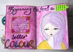 Jennibellie Studio: 3 Journal Pages and 3 Tutorials