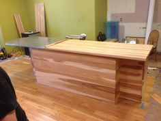 Prefinished Hickory Butcher Block Countertop   In Addition To Hickoryu0027s  Beautiful Color Variation, It Is