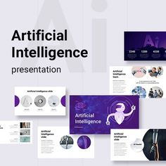 Artificial Intelligence Keynote Templete - Keynote Business Presentation Template by DesBaI_Studio. Business Presentation Templates, Business Powerpoint Templates, Keynote Template, Wednesday Motivation, I Appreciate You, Artificial Intelligence, Free Photos, Have Fun, Infographic